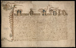 acte 28 avril 1411